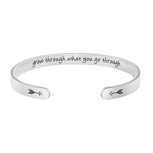 Joycuff Bangle Bracelets for Women Birthday Gifts for Her Silver Cuff Bangle
