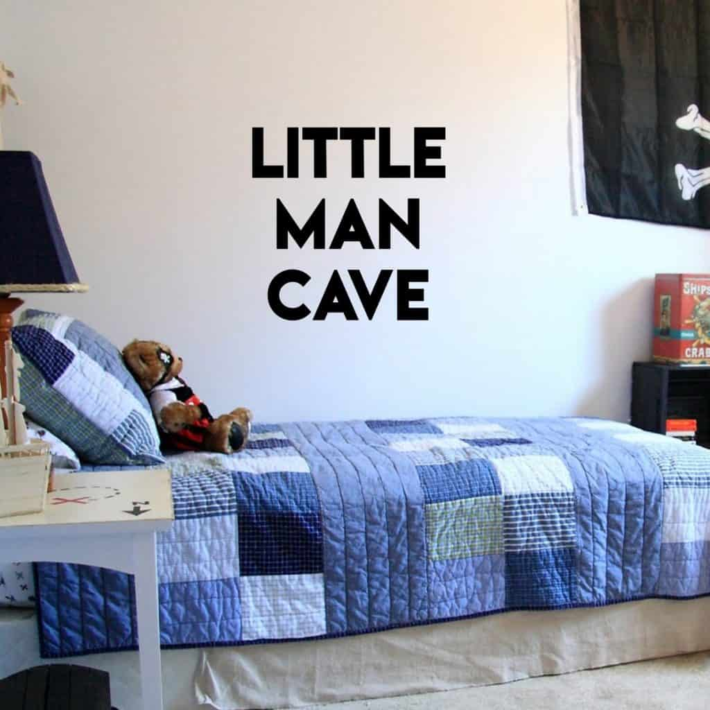 Vinyl Wall Art Stickers for Baby Boys Nursery Room