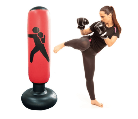 Punching Bag Stand Tumbler Type For Positive Thinking
