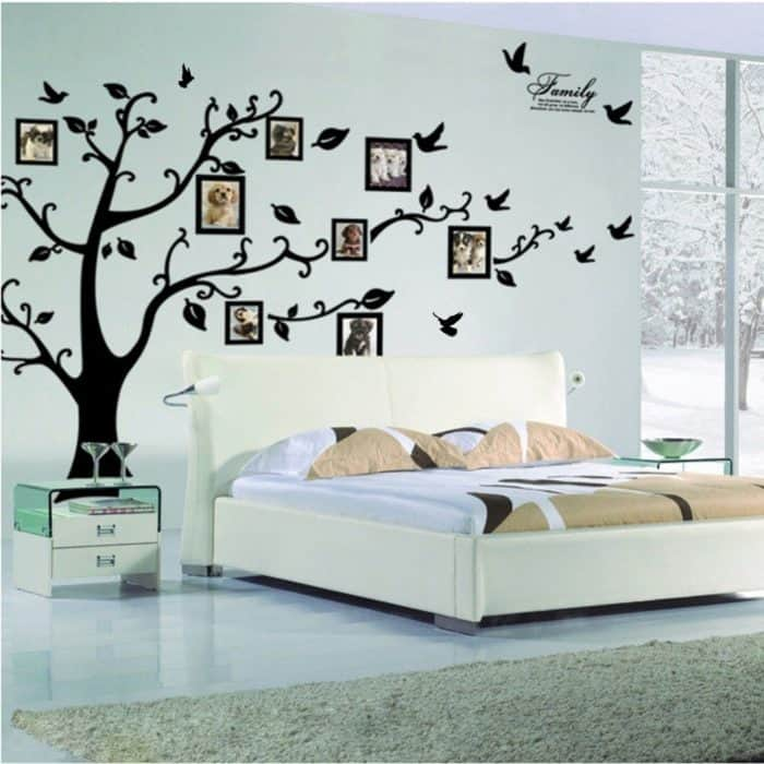 Tree Wall Decal Whimsical Sticker