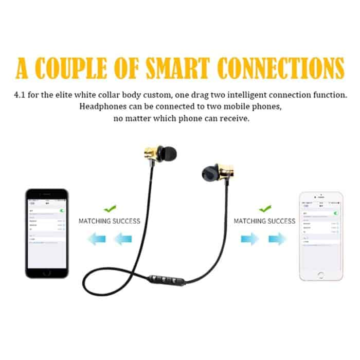 Headset Bluetooth In Ear Headphones